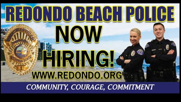 Redondo Beach Police NOW HIRING!